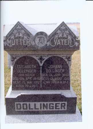 DOLLINGER, ELISABETH - McIntosh County, North Dakota | ELISABETH DOLLINGER - North Dakota Gravestone Photos