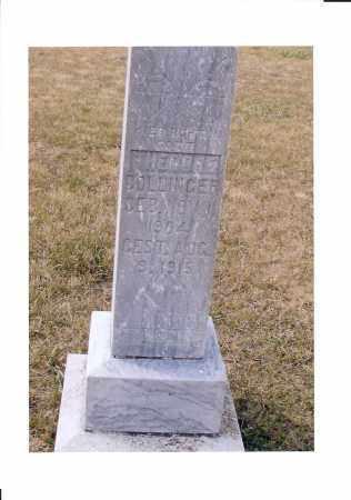 DOLLINGER, THEODORE - McIntosh County, North Dakota | THEODORE DOLLINGER - North Dakota Gravestone Photos