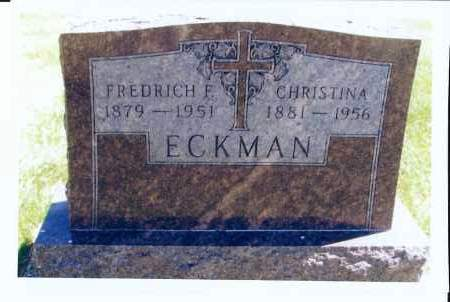 ECKMAN, FREDRICH, F. - McIntosh County, North Dakota | FREDRICH, F. ECKMAN - North Dakota Gravestone Photos