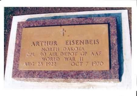 EISENBEIS, ARTHUR - McIntosh County, North Dakota | ARTHUR EISENBEIS - North Dakota Gravestone Photos
