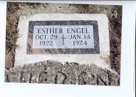 ENGEL, ESTHER - McIntosh County, North Dakota | ESTHER ENGEL - North Dakota Gravestone Photos