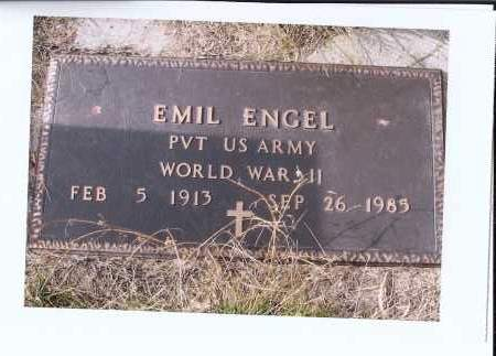 ENGEL, EMIL - McIntosh County, North Dakota | EMIL ENGEL - North Dakota Gravestone Photos
