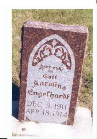 ENGELHARDT, CAROLINA - McIntosh County, North Dakota   CAROLINA ENGELHARDT - North Dakota Gravestone Photos