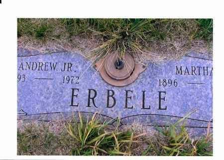 ERBELE, MARTHA - McIntosh County, North Dakota   MARTHA ERBELE - North Dakota Gravestone Photos