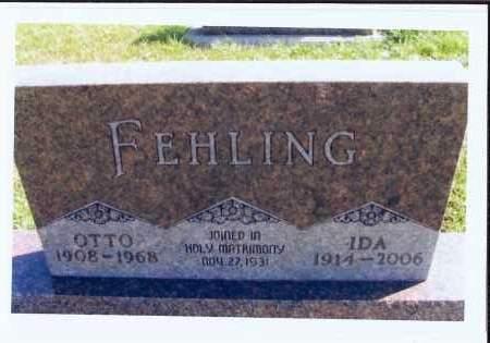 FEHLING, OTTO - McIntosh County, North Dakota | OTTO FEHLING - North Dakota Gravestone Photos