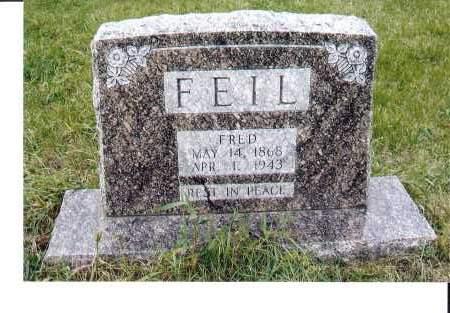 FEIL, FRED - McIntosh County, North Dakota | FRED FEIL - North Dakota Gravestone Photos