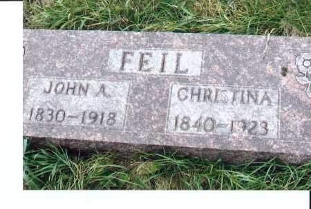 FEIL, JOHN A. - McIntosh County, North Dakota | JOHN A. FEIL - North Dakota Gravestone Photos