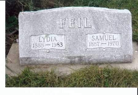 FEIL, LYDIA - McIntosh County, North Dakota | LYDIA FEIL - North Dakota Gravestone Photos