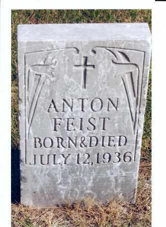 FEIST, ANTON - McIntosh County, North Dakota | ANTON FEIST - North Dakota Gravestone Photos