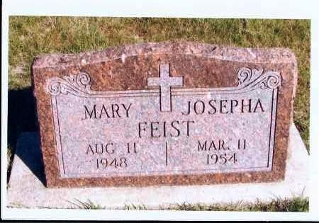 FEIST, MARY JOSEPHA - McIntosh County, North Dakota | MARY JOSEPHA FEIST - North Dakota Gravestone Photos