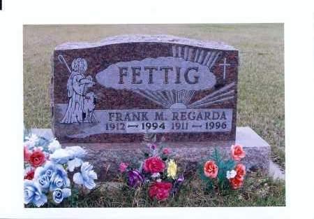FETTIG, REGARDA - McIntosh County, North Dakota   REGARDA FETTIG - North Dakota Gravestone Photos