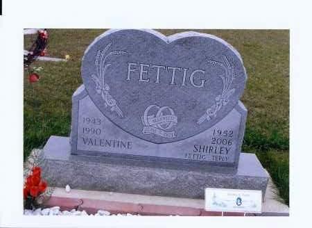 FETTIG, VALENTINE - McIntosh County, North Dakota | VALENTINE FETTIG - North Dakota Gravestone Photos