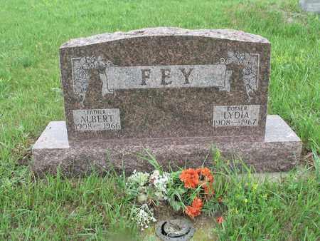 FEY 109, ALBERT - McIntosh County, North Dakota   ALBERT FEY 109 - North Dakota Gravestone Photos
