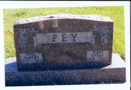 FEY, ALBERT - McIntosh County, North Dakota | ALBERT FEY - North Dakota Gravestone Photos