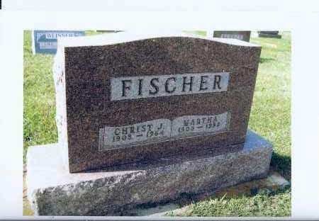 FISCHER, MARTHA - McIntosh County, North Dakota | MARTHA FISCHER - North Dakota Gravestone Photos