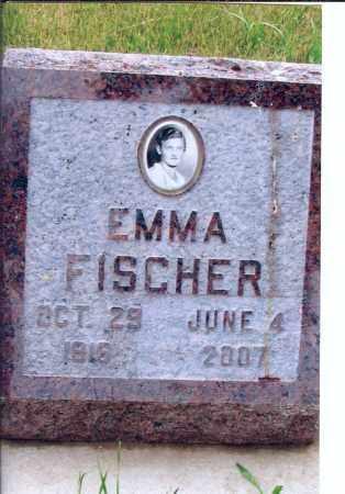 FISCHER, EMMA - McIntosh County, North Dakota | EMMA FISCHER - North Dakota Gravestone Photos