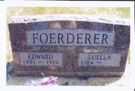 FOERDERER, EDWARD - McIntosh County, North Dakota | EDWARD FOERDERER - North Dakota Gravestone Photos