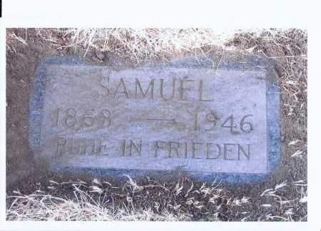 FREGIEN, SAMUEL - McIntosh County, North Dakota | SAMUEL FREGIEN - North Dakota Gravestone Photos