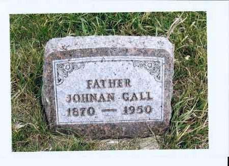 GALL, JOHNAN - McIntosh County, North Dakota | JOHNAN GALL - North Dakota Gravestone Photos