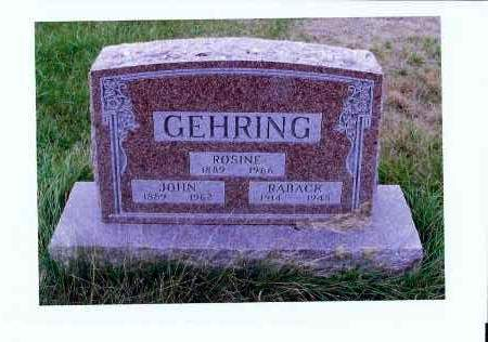 KAPPES GEHRING, ROSINE - McIntosh County, North Dakota | ROSINE KAPPES GEHRING - North Dakota Gravestone Photos