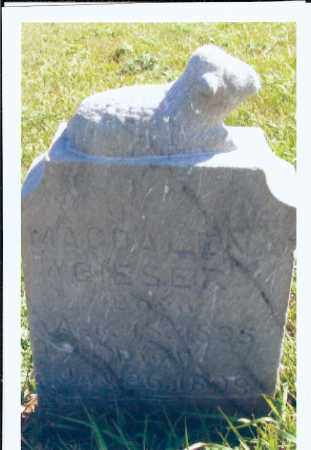 GIESER, MAGDALENA - McIntosh County, North Dakota | MAGDALENA GIESER - North Dakota Gravestone Photos