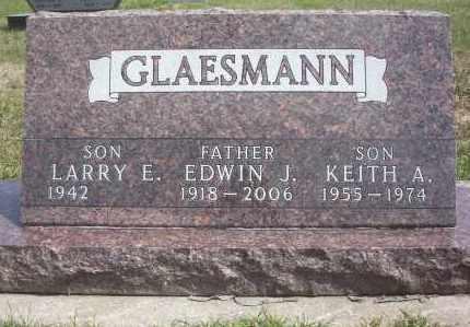 GLAESMANN, KEITH ALLEN - McIntosh County, North Dakota | KEITH ALLEN GLAESMANN - North Dakota Gravestone Photos