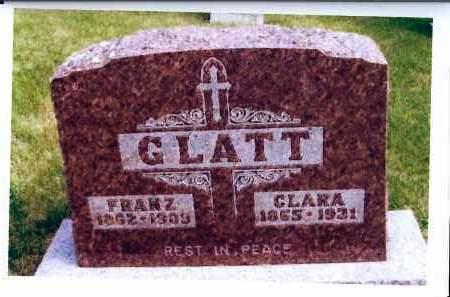 SCHUMACHER GLATT, CLARA - McIntosh County, North Dakota | CLARA SCHUMACHER GLATT - North Dakota Gravestone Photos