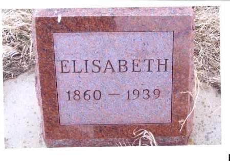 BERTSCH GOEHRING, ELISABETH - McIntosh County, North Dakota | ELISABETH BERTSCH GOEHRING - North Dakota Gravestone Photos