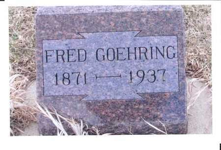 GOEHRING, FRED - McIntosh County, North Dakota   FRED GOEHRING - North Dakota Gravestone Photos