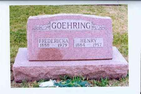 HOFFMAN GOEHRING, FREDERICKA - McIntosh County, North Dakota | FREDERICKA HOFFMAN GOEHRING - North Dakota Gravestone Photos