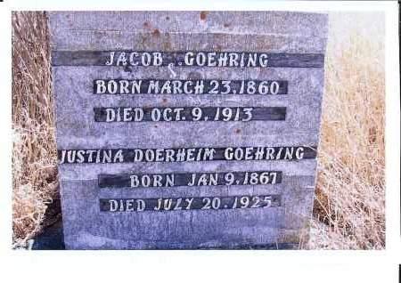 GOEHRING, JACOB J. - McIntosh County, North Dakota | JACOB J. GOEHRING - North Dakota Gravestone Photos