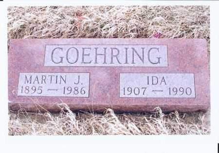 SCHAUER GOEHRING, IDA - McIntosh County, North Dakota   IDA SCHAUER GOEHRING - North Dakota Gravestone Photos