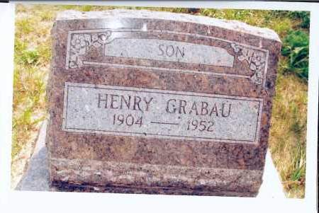GRABAU, HENRY - McIntosh County, North Dakota | HENRY GRABAU - North Dakota Gravestone Photos