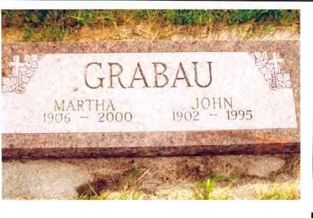 BECKER GRABAU, MARTHA - McIntosh County, North Dakota | MARTHA BECKER GRABAU - North Dakota Gravestone Photos