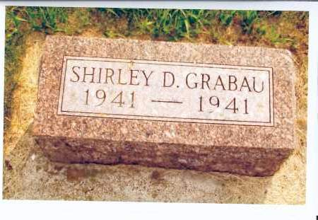 GRABAU, SHIRLEY D. - McIntosh County, North Dakota   SHIRLEY D. GRABAU - North Dakota Gravestone Photos
