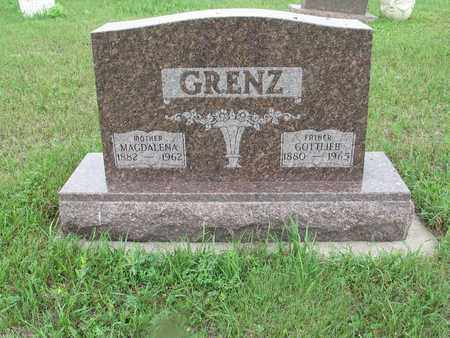 GRENZ 107, GOTTLIEB - McIntosh County, North Dakota | GOTTLIEB GRENZ 107 - North Dakota Gravestone Photos