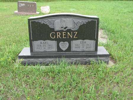 GRENZ 108, KARL - McIntosh County, North Dakota | KARL GRENZ 108 - North Dakota Gravestone Photos