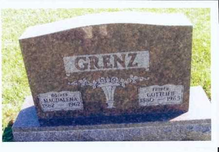 GOEHRING GRENZ, MAGDALENA - McIntosh County, North Dakota | MAGDALENA GOEHRING GRENZ - North Dakota Gravestone Photos