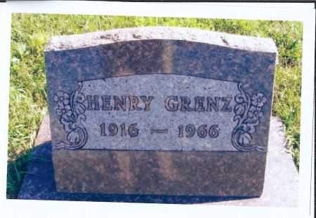 GRENZ, HENRY - McIntosh County, North Dakota | HENRY GRENZ - North Dakota Gravestone Photos