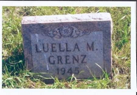 GRENZ, LUELLA M. - McIntosh County, North Dakota   LUELLA M. GRENZ - North Dakota Gravestone Photos