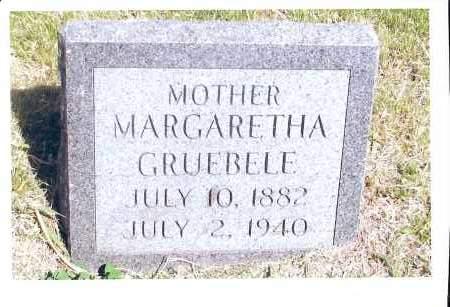 GRUEBELE PERMAN, MARGARETHA - McIntosh County, North Dakota   MARGARETHA GRUEBELE PERMAN - North Dakota Gravestone Photos