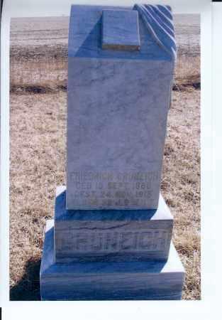 GRUNEICH, FRIDRICH - McIntosh County, North Dakota | FRIDRICH GRUNEICH - North Dakota Gravestone Photos