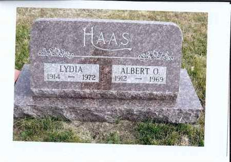 HAAS, LYDIA - McIntosh County, North Dakota | LYDIA HAAS - North Dakota Gravestone Photos
