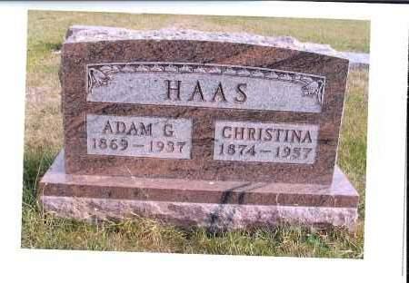 TESKY HAAS, CHRISTINA - McIntosh County, North Dakota | CHRISTINA TESKY HAAS - North Dakota Gravestone Photos