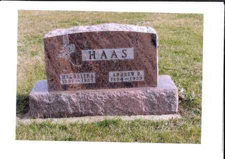 DOCKTER HAAS, MAGDALENA - McIntosh County, North Dakota | MAGDALENA DOCKTER HAAS - North Dakota Gravestone Photos