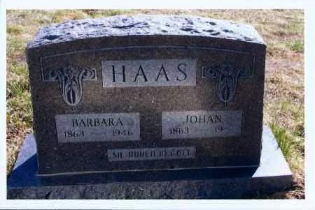 HAAS, JOHAN - McIntosh County, North Dakota | JOHAN HAAS - North Dakota Gravestone Photos