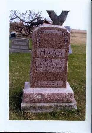 HAAS, KATHARINA - McIntosh County, North Dakota | KATHARINA HAAS - North Dakota Gravestone Photos