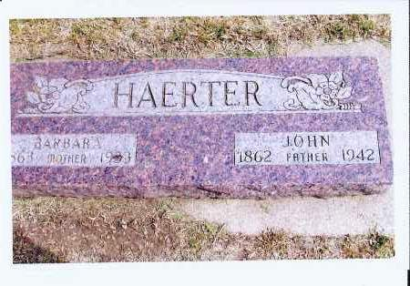 HAERTER, BARBARA - McIntosh County, North Dakota | BARBARA HAERTER - North Dakota Gravestone Photos