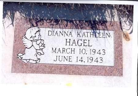 HAGEL, DIANNA KATHLEEN - McIntosh County, North Dakota   DIANNA KATHLEEN HAGEL - North Dakota Gravestone Photos