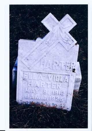 HARTER, ELLA VIOLA - McIntosh County, North Dakota | ELLA VIOLA HARTER - North Dakota Gravestone Photos